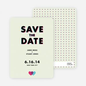Save the date [A6]
